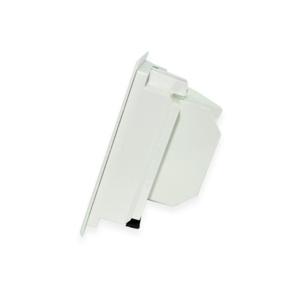 Arlington ARLTVBU505GC Recessed TV Box for Power and Low Voltage, White - 21st Century Entertainment Inc.