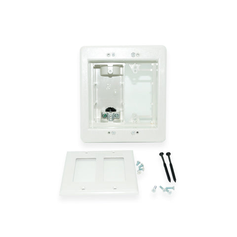 CDD Keystone Cat5e Jack, White