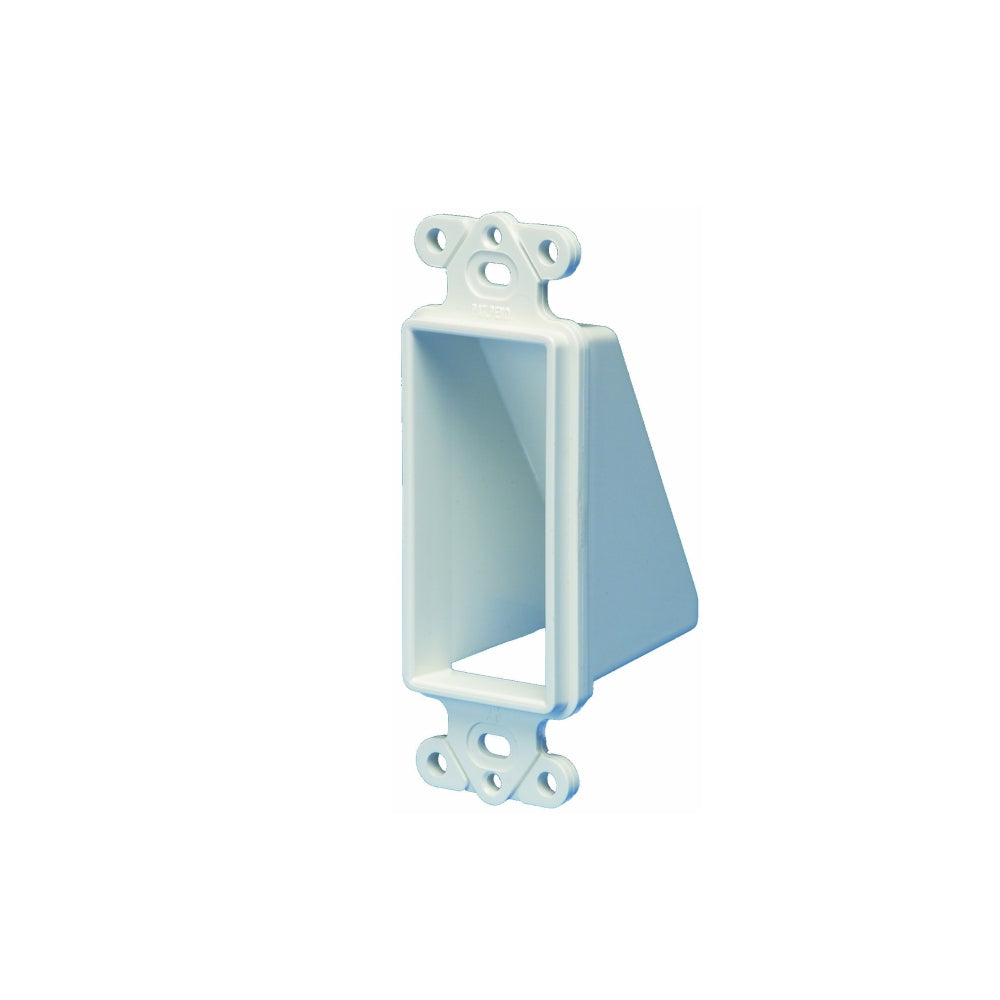 Arlington CED1-1 Cable Wall Plate Insert, Hide Wires, 1-Gang, White ...