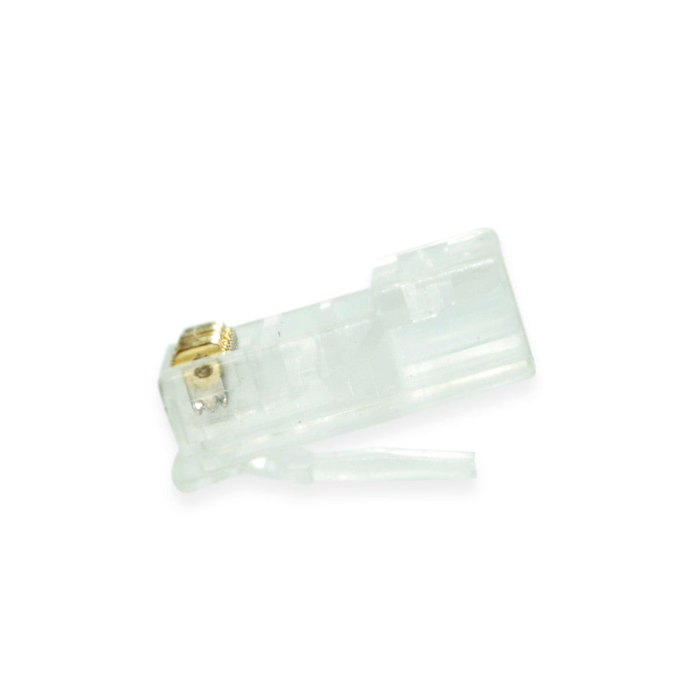 RJ-45 Connectors for Cat5e solid wire, qty100 - 21st Century Entertainment Inc.