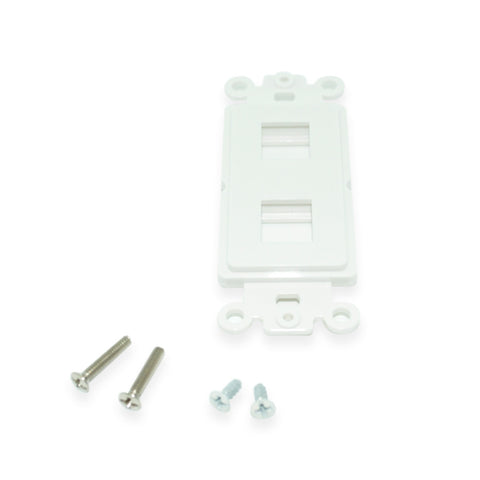 Keystone Cat5e Jack, White