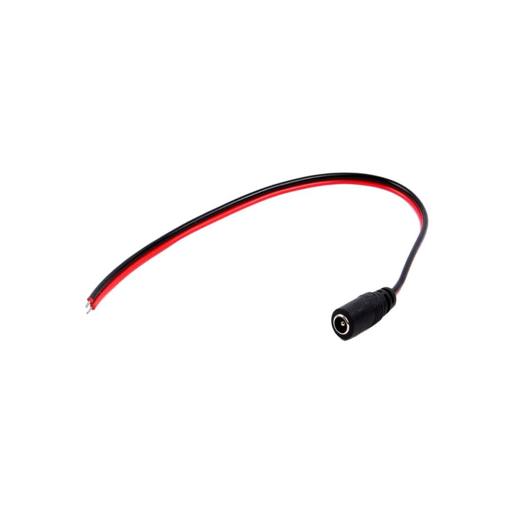 CDD DC Power Female Jack Connector Pigtail for CCTV Camera - 21st Century Entertainment Inc.