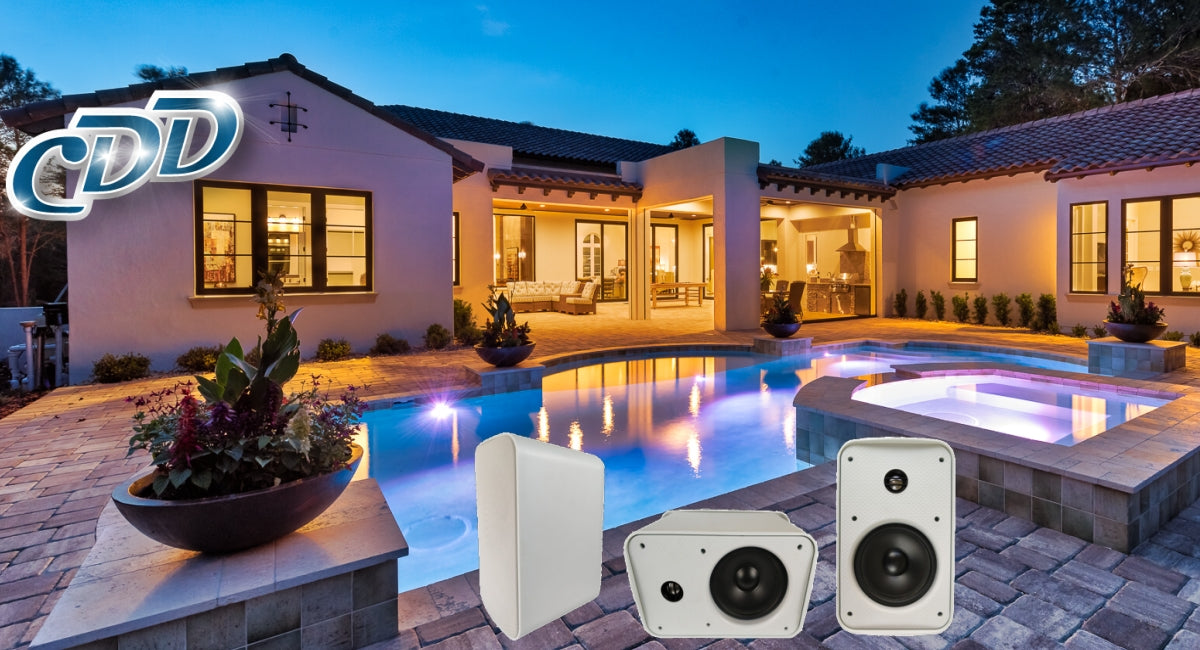 Check Out Our New Outdoor Weatherproof Speakers