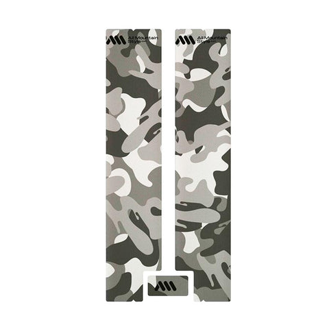 All Mountain Style - Fork Guard - Clear/Camo - ZEITBIKE