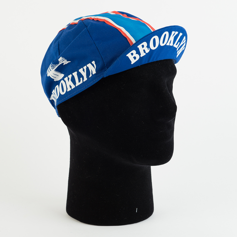 Cycling Cap - Vintage - Brooklyn - Blue