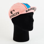Cycling Cap - Vintage - Brooklyn Rosa - ZEITBIKE