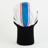 Cycling Cap - Vintage - Brooklyn White