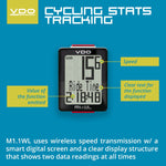 VDO Bicycle Computer M1.1 (Wireless)