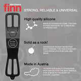 FINN - Universal Bicycle Phone Mount - Red