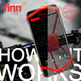 FINN - Universal Bicycle Phone Mount - Transparent