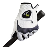 HIRZL Trust Hybrid - Golf Gloves - White / Black