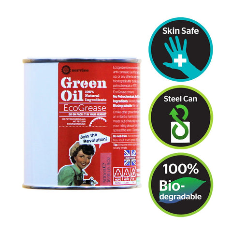 Green Oil - EcoGrease Tin - 500ml