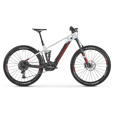 Mondraker - CRAFTY CARBON R 29 Bike in Carbon / White (e-MTB ENDURO | 2021) - ZEITBIKE