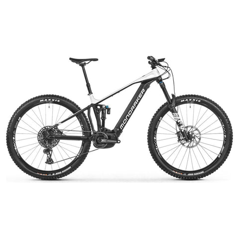 Mondraker - CRAFTY R 29 Bike in Black / Dirty White (e-MTB ENDURO | 2021) - ZEITBIKE