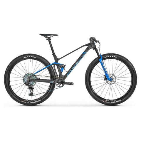 Mondraker - F-PODIUM CARBON RR Bike in Carbon / Blue (XC RACE | 2021) - ZEITBIKE