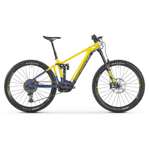 Mondraker - LEVEL R 29 Bike in Yellow / Blue (e- MTB SUPER ENDURO | 2021)
