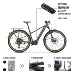 Mondraker - THUNDRA X Bike in Graphite / Black (Urban Cross | 2021)