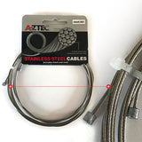 Aztec - Stainless Inner Wire Gear (Front + Rear)