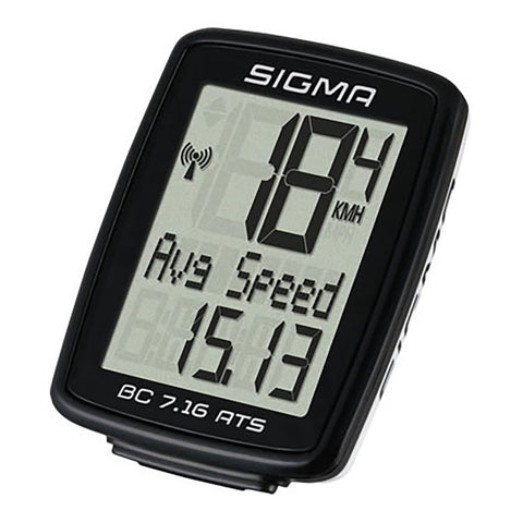 SIGMA Bike Computer - BC 7.16 ATS, Analogue Wireless