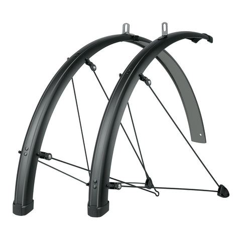 SKS - Bike Fender Set - Bluemels Stingray 45mm (700x28-37) - Grey