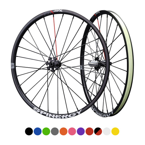 "SPINERGY – GX Max 650B, Bicycle Wheel Set – Gravel, Adventures - 2021 w/ ""44"" Hub"