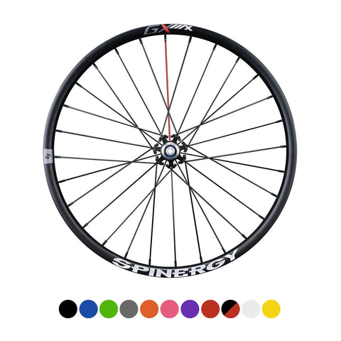 "SPINERGY – GX Max 700c, Rear Bicycle Wheel – Gravel, Adventures - 2021 w/ ""44"" Hub"