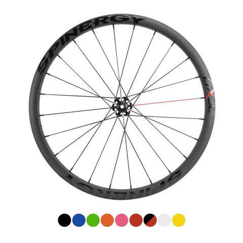 SPINERGY - GX32 700c, 28-40mm Alloy Front Bicycle Wheel - Gravel/CX
