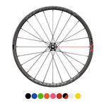 "SPINERGY - GXX Carbon 700c Centerlock Front Bicycle Wheel - Gravel/CX - 2021 w/ ""44"" Hub"