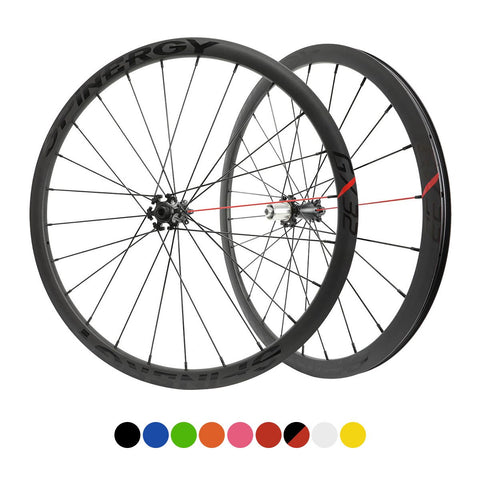 "SPINERGY - GX32 700c, 28-40mm Alloy Centerlock Bicycle Wheel Set - Gravel/CX - 2021 w/ ""44"" Hub"