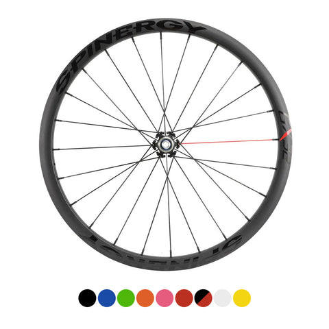 SPINERGY - GX32 700c, 28-40mm Alloy Rear Bicycle Wheel - Gravel/CX