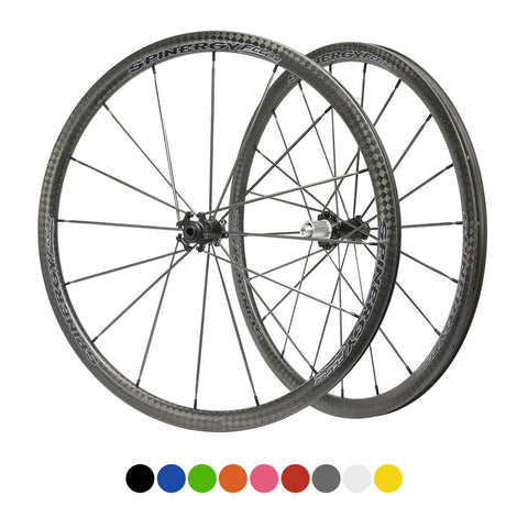 SPINERGY Stealth FCC 3.2 700c Front & Rear Wheel Set for Road