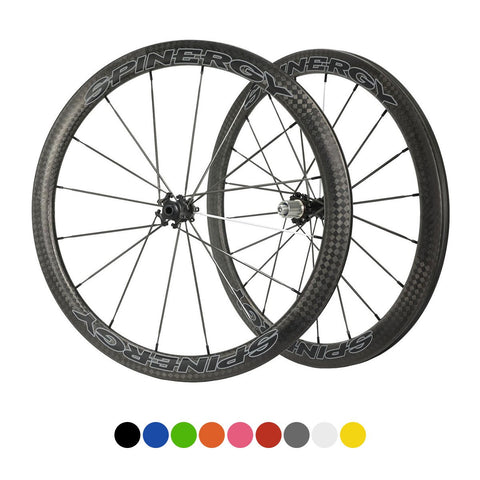SPINERGY Stealth FCC 4.7 700c Front & Rear Wheel Set for Road