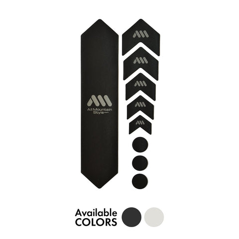 All Mountain Style - Frame Guard - Standard Size (Clear/Silver or Black/Silver)