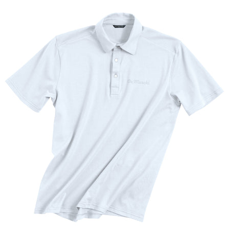 De Marchi - Fitted Polo - White