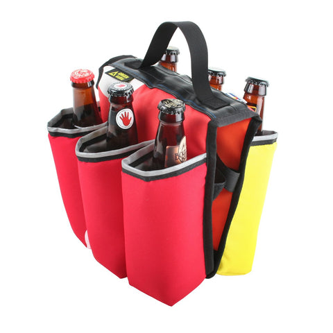 Green Guru - Sixer 6-Pack Holder - Multi-color - ZEITBIKE