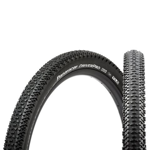 PANARACER - DriverPro 650B (Tubeless compatible) 27.5 x 2.22 Aramid MTB Bicycle Tire Black