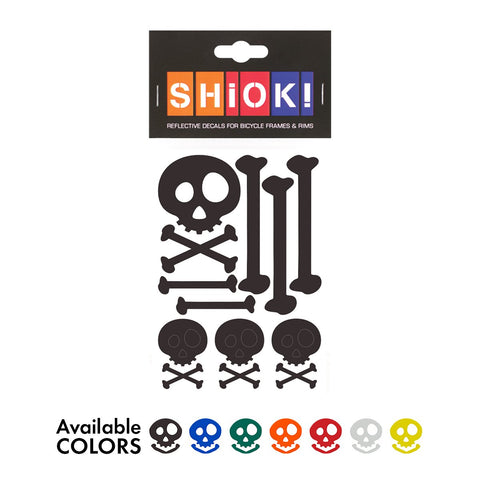 SHIOK - SKULLS Frame Reflectives