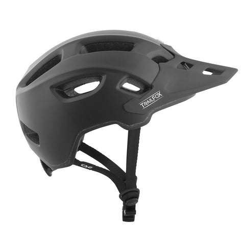 TSG - Helmet - Trailfox Solid Color - Satin Black