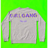 """Girl Gang Fight Gear"" Grey Sweatshirt"