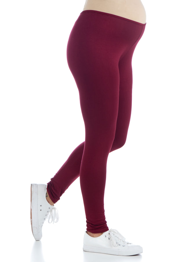 Comfortable Ankle Length Stretch Maternity Leggings