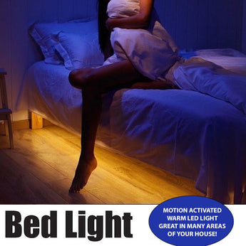 Motion Activated LED Bed Light Kit