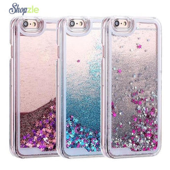 Dynamic Quicksand Glitter Case for iPhone