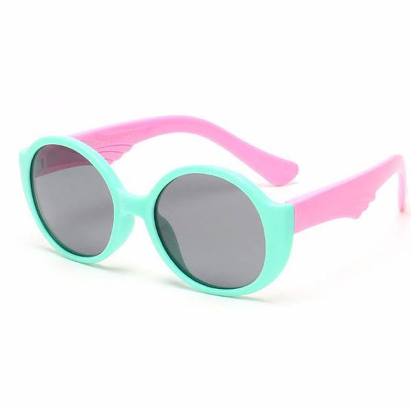 Flexible Round Kids Sunglasses