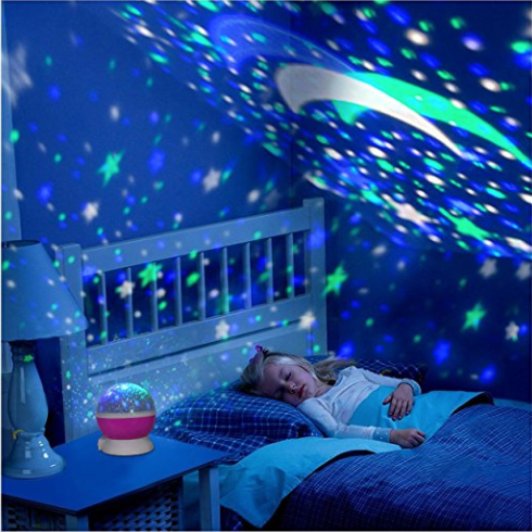 LED Rotating Night Sky Projector - Shopzle