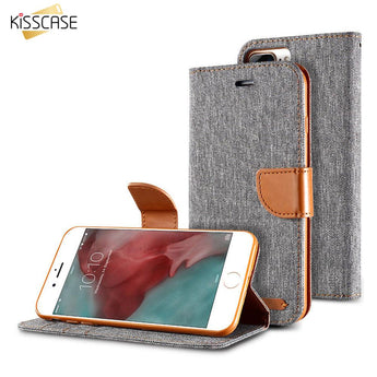 KISSCASE- Luxury Wallet & Flip Case For iPhone