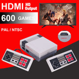 Mini HDMI Gaming Console - 600 Classic Games Built-in!