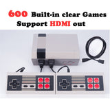 Mini HDMI Gaming Console - 600 Classic Games Built-in! - Shopzle