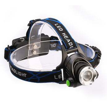 Super Bright Zoomable Waterproof LED Headlight