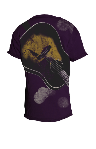Sheriff Guitar - SS (guitar on back graphic)