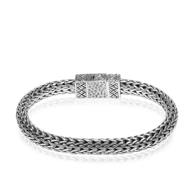 Classic Sterling Silver Chain Bracelet - Kainam